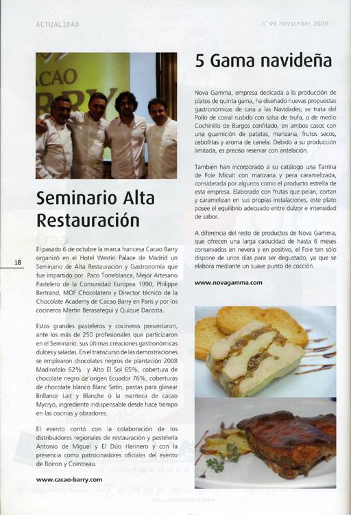 Cocina Futuro Noviembre 2009