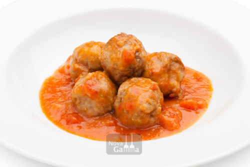 Mandonguilles amb tomàquet - precuinats gourmet de Nova Gamma - entrants