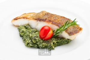 Bacalao con Espinacas a la Crema - Precocinados de pescado