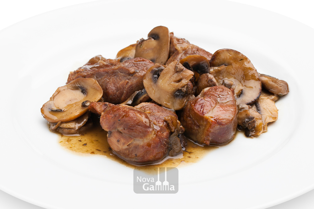 Carrillera de Cerdo D.O. Teruel con Setas - Precocinados de carne