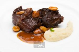 Galta de Vedella amb Parmentier de Patata i trufa - precuinats de carn Nova Gamma