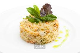 Couscous con Verduras y Garbanzos - Precocinados entrantes