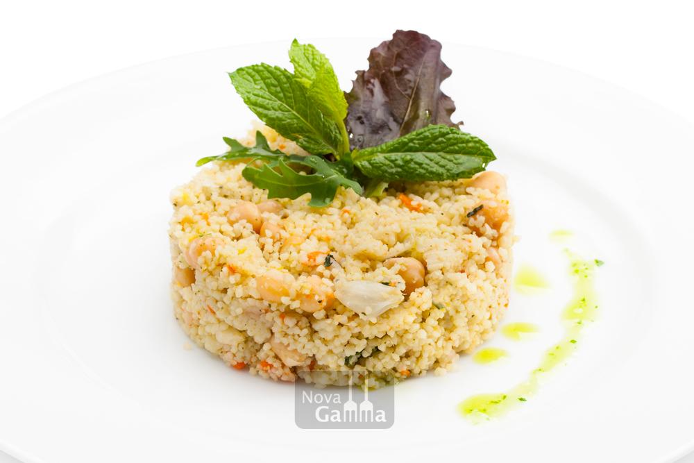 Couscous de Bulgur con Verduras y Garbanzos - Precocinados entrantes