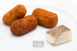 Precocinados - Croquetas de Bacalao con Ajos Tiernos