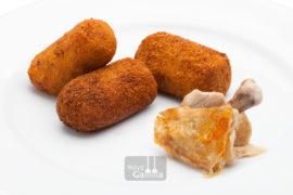 Precocinados - Croquetas de Pollo Rustido