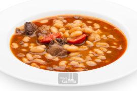 Judías Blancas con Chorizo y Morcilla - Platos precocinados de cuchara
