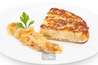 Preparado de Tortilla de Patatas - platos preparados de quinta gama