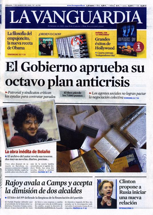 La Vanguardia Marzo 2009