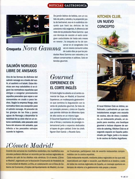 Vinos y Restaurantes nº 96 Agosto