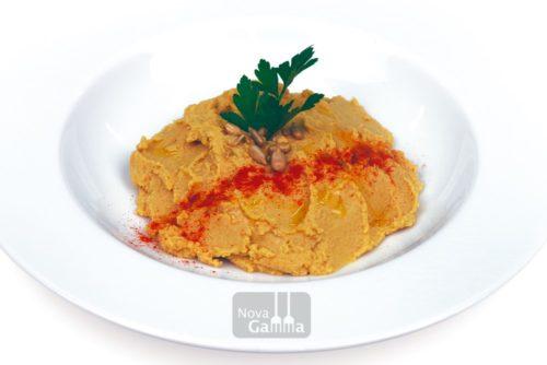 Comprar hummus de cigrons i pipes - precuinats novagamma, plats gourmet