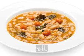 Judías Blancas con Miso y Verduras platos de quinta gama - Nova Gamma