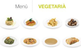 Menú Vegetarià