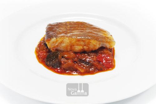 Un fantástico Comprar bacalao con sanfaina, tierno y sabroso, una combinación ideal de pescado y verduras para convertirse en un plato Quinta Gamma.