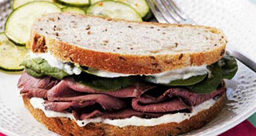 Sandwich de Roastbeef Nova Gamma