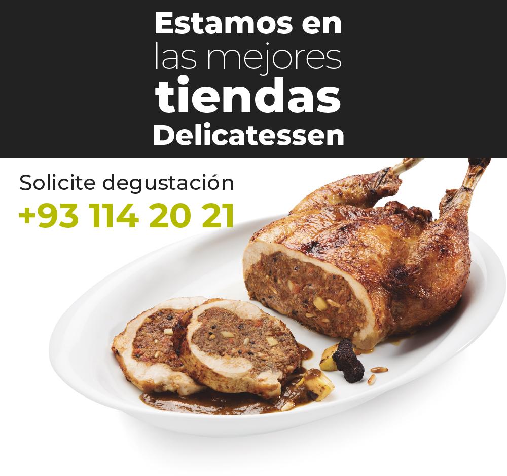 Comprar platos quinta gama precocinados para restaurantes y tiendas delicatessen