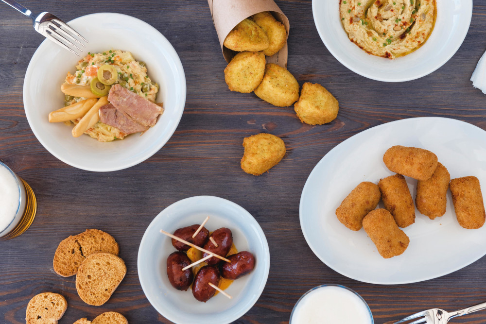 Packs y menus especiales, ingredientes base para Tapas